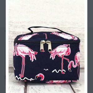 Handbags - New Flamingo Makeup Case / party Case!
